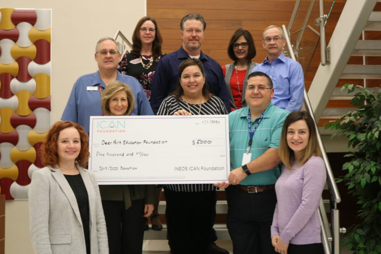 ICAN supports the Deer Park Education Foundation