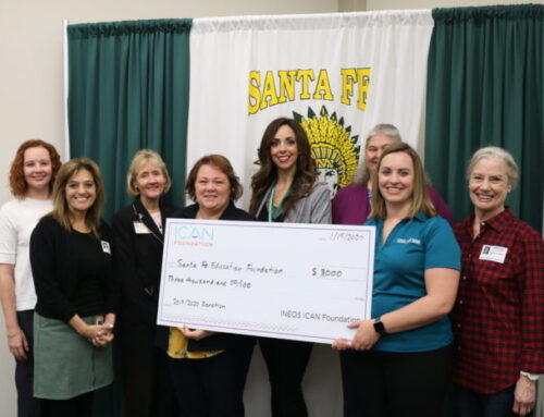 Celebrating with the Santa Fe Education Foundation